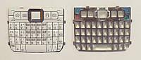 Клавиатура Nokia E71, Белая, AAA Class, (Кириллица)