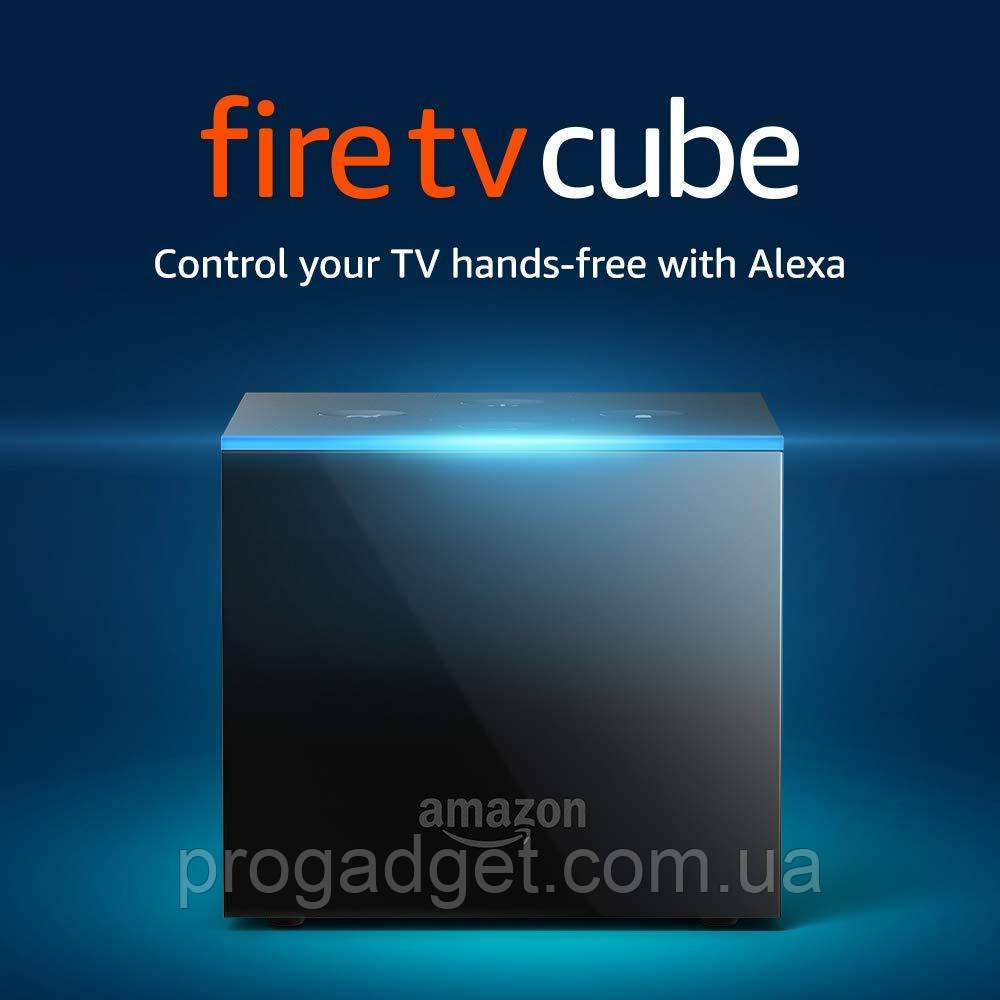 Потоковый мультимедиаплеер Amazon Fire TV Cube 4K with Alexa Control and Remote 2/16 GB Сделает ваш TV  умным!