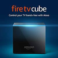 Потоковый мультимедиаплеер Amazon Fire TV Cube 4K with Alexa Control and Remote 2/16 GB Сделает ваш TV  умным!, фото 1