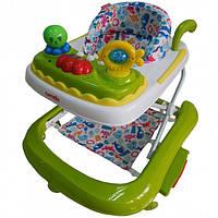 Ходунки детские 3 в 1 качалка+каталка Carrello Китай Green 9604
