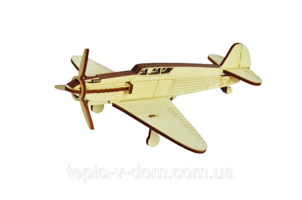 """3D Іграшка-конструктор  """"Літак ЯК-1"""""""