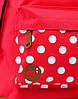 Рюкзак Mipac - Polkadot Red, фото 2