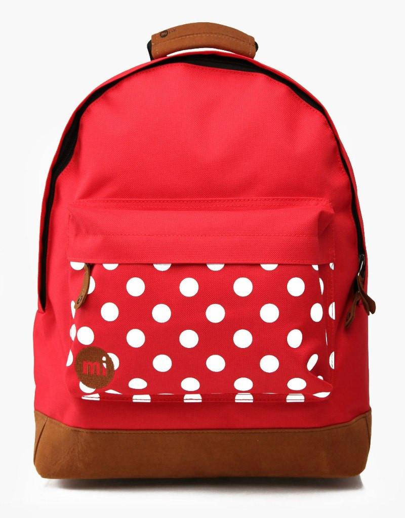 Рюкзак Mipac - Polkadot Red