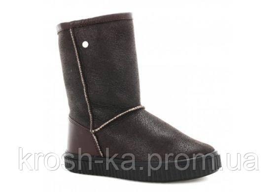 Сапоги для девочки (28-31) р (Бартек)Bartek Польша коричневые 247750-BA2