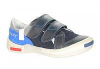 Туфли детские (Бартек)Bartek Польша синий для мальчика 88585-E80