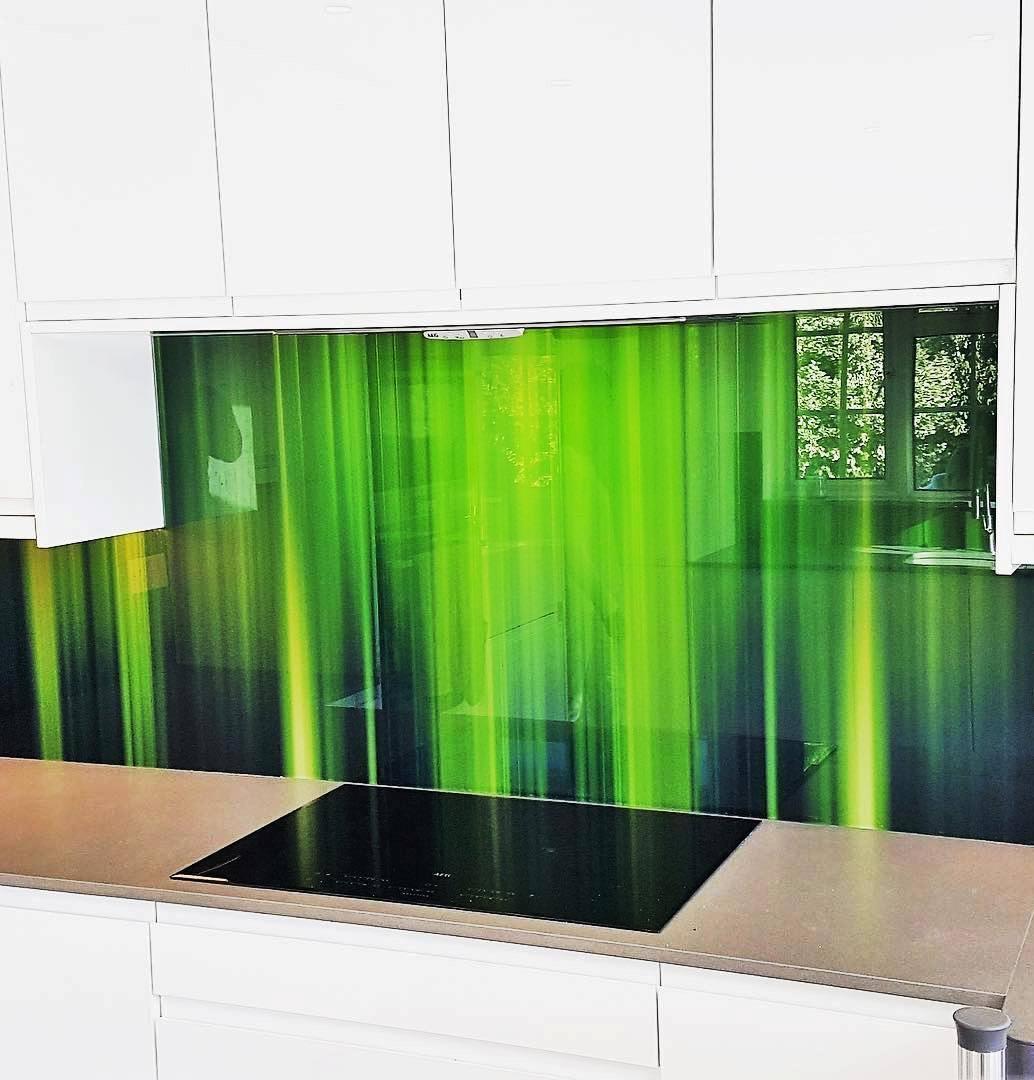 Фартук спектр зелёный
