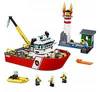 Lego City 60109 Пожарный катер