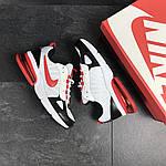 Мужские кроссовки Nike (бело-красные), фото 2