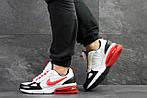 Мужские кроссовки Nike (бело-красные), фото 4