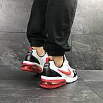 Мужские кроссовки Nike (бело-красные), фото 5