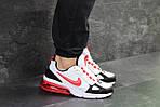 Мужские кроссовки Nike (бело-красные), фото 6