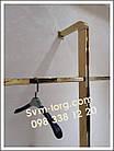 Рейка опора пристенная золотая, фото 2
