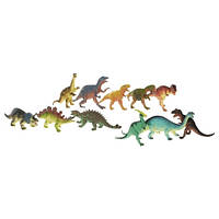 Игрушки Резиновые фигурки Динозавры детские Гонконг в ассортименте F020