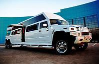 Лимузин Mega Hummer H2 белый