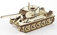 "3D Іграшка-конструктор  ""Танк Т34"""