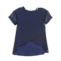 Блуза детская Cameron детская Tiffosi Португалия синий шифон для девочки 09167