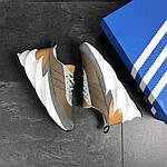 Мужские кроссовки Adidas Sharks (коричневые), фото 2