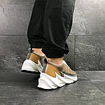 Мужские кроссовки Adidas Sharks (коричневые), фото 6