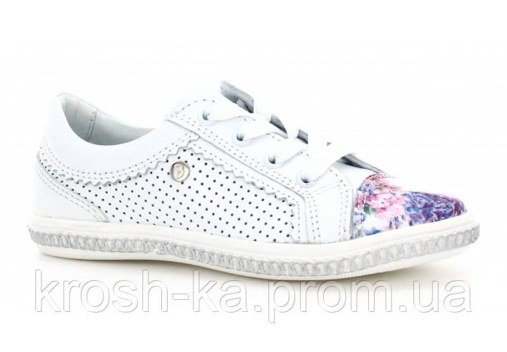 Туфли для девочки (33 размер) (Бартек)Bartek Польша белые 88254-H67