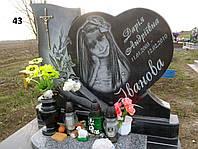 Дитячий елітний пам'ятник на могилу із граніту