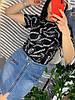 Женская юбка на молнии с декоративными карманами. Д-42-0419, фото 2