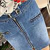 Женская юбка на молнии с декоративными карманами. Д-42-0419, фото 4