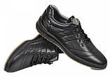 Туфли мужские спортивные из натуральной кожи от производителя модель МАК766, фото 3