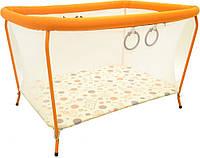 Детская мебель Манеж Класик прямоугольный Омми Украина оранжевый ФР-00002499