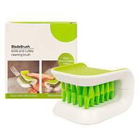 Щетка для мытья ножей и столовых приборов Blade Brush