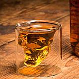 Стакан для алкоголя Череп Doomed 75 мл, фото 3