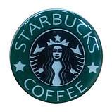 """Попсокет PopSocket 3D """"Starbucks Coffee"""" №39 - Держатель для телефона Поп Сокет в блистере с липучкой 3М, фото 3"""