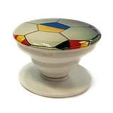"""Попсокет PopSocket 3D """"Мяч"""" №21 - Держатель для телефона Поп Сокет в блистере с липучкой 3М, фото 2"""