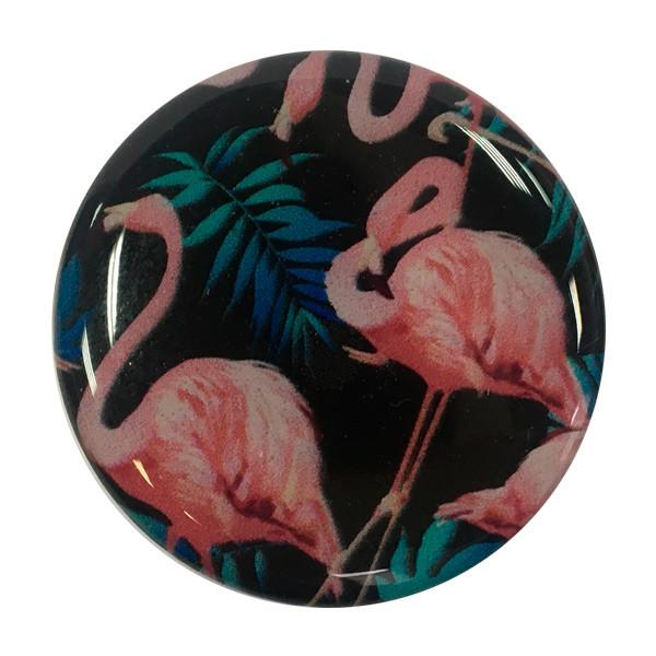 """Попсокет PopSocket 3D """"Фламинго"""" №6 - Держатель для телефона Поп Сокет в блистере с липучкой 3М"""