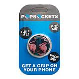 """Попсокет PopSocket 3D """"Фламинго"""" №6 - Держатель для телефона Поп Сокет в блистере с липучкой 3М, фото 3"""