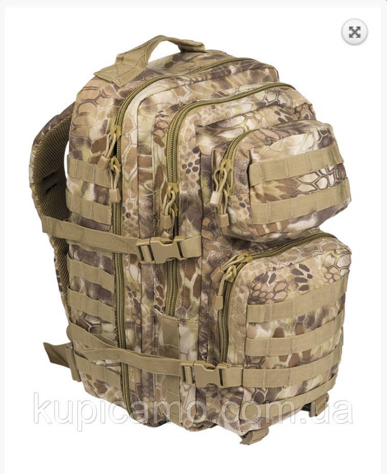 Рюкзак тактический us assault pack LG MANDRA TAN 36л Германия