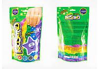Кинетический песок В пакете с блёстками 1кг Данко Тойс Украина KS-03-01