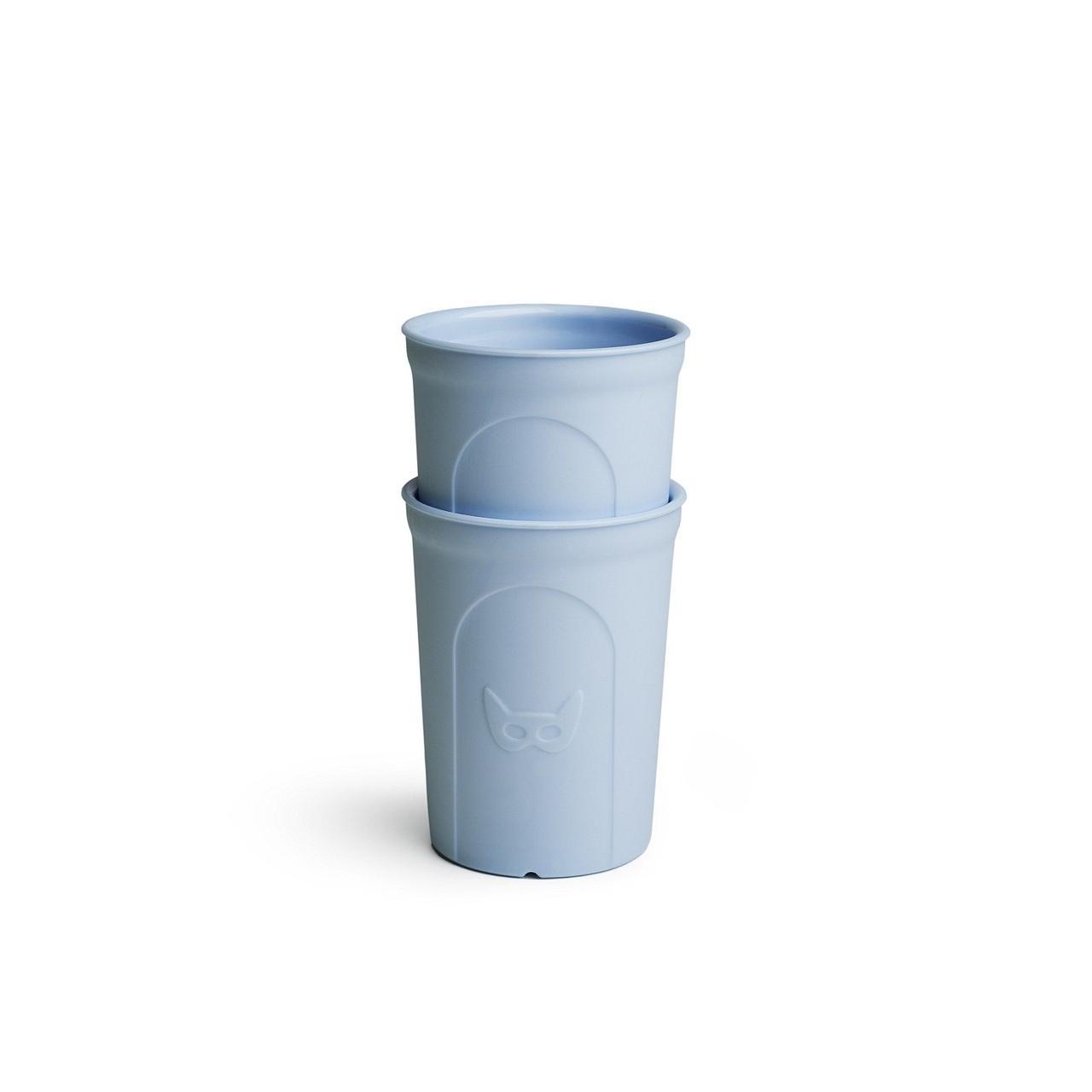 Herobility - Чашка HeroEcoGlass, 2 шт, цвет синий