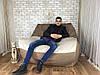 Бескаркасный диван  Люкс  кресло мешок ( Груша) мягкая мебель для детей  мягкий пуф диван, фото 4