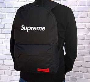 Молодежный рюкзак Supreme (черный)