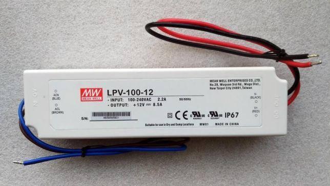 Джерело живлення Mean Well LPV-100-12V/8,4A, фото 2