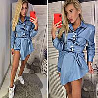 2c7077b2900 Женская джинсовая рубашка оптом в Украине. Сравнить цены