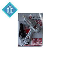 Пистолет клеевой 40Вт 10.8-11.5мм с выключателем INTERTOOL RT-1102