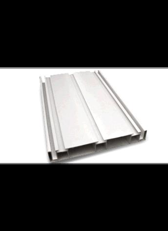 Профіль ПВХ система QUATTRO (4 м) 130 мм білий, для виготовлення світлових коробів, фото 2