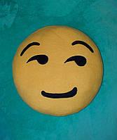 """Подушки смайлики Emoji 35 см """"Коварная ухмылка"""""""