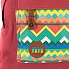 Рюкзак Mipac - Native Aztec Burgundy, фото 4