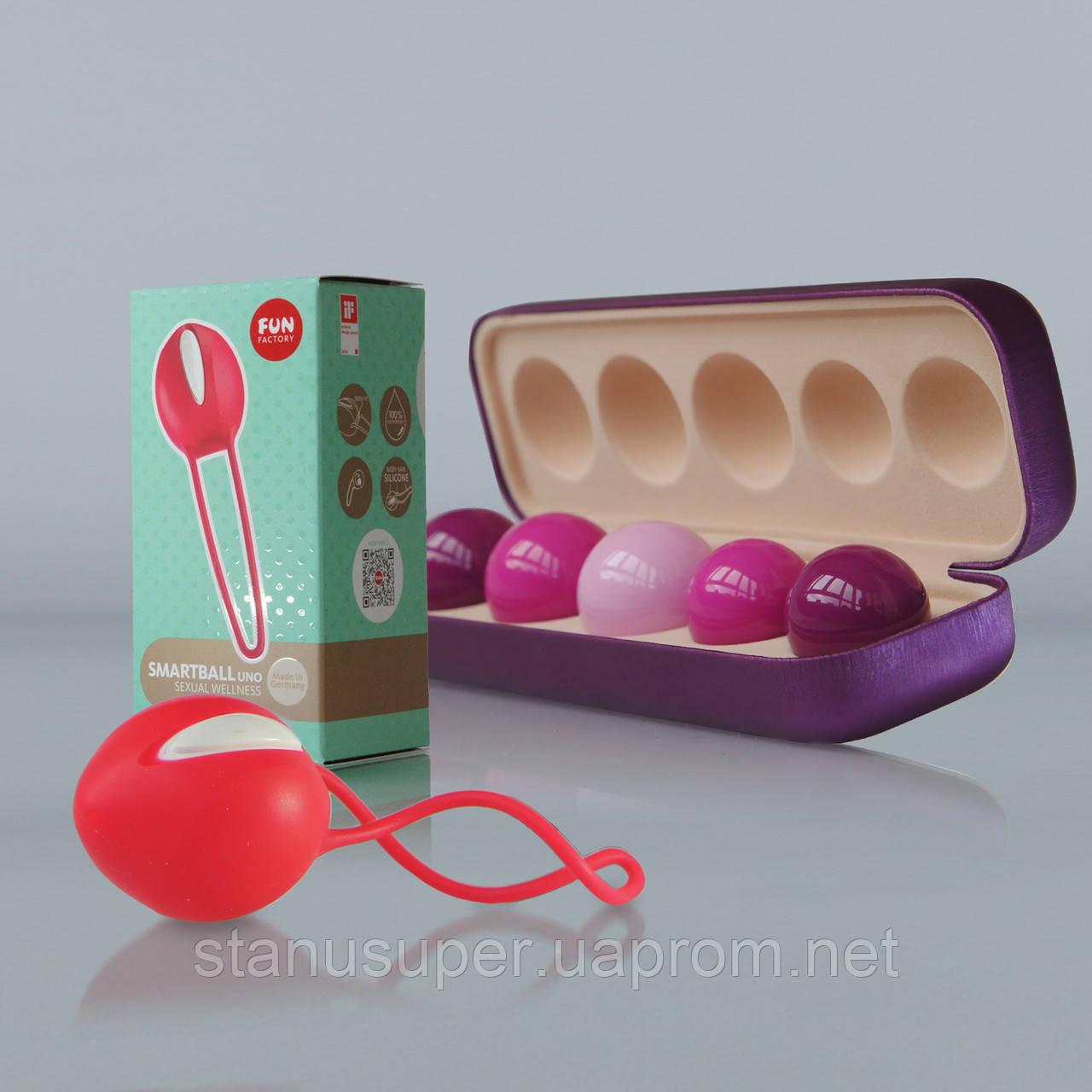 Набор для восстановления влагалища: Вагинальные шарики Vagiton Balls и SmartBall Uno (как грузовой).