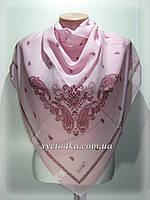 Лёгкие шифоновые платки Воздушный, розовый