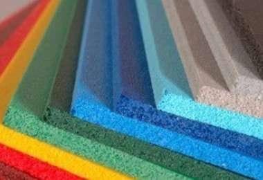 ПВХ спінений Palight, синій, 3 мм, лист 1220х2440 мм, фото 2