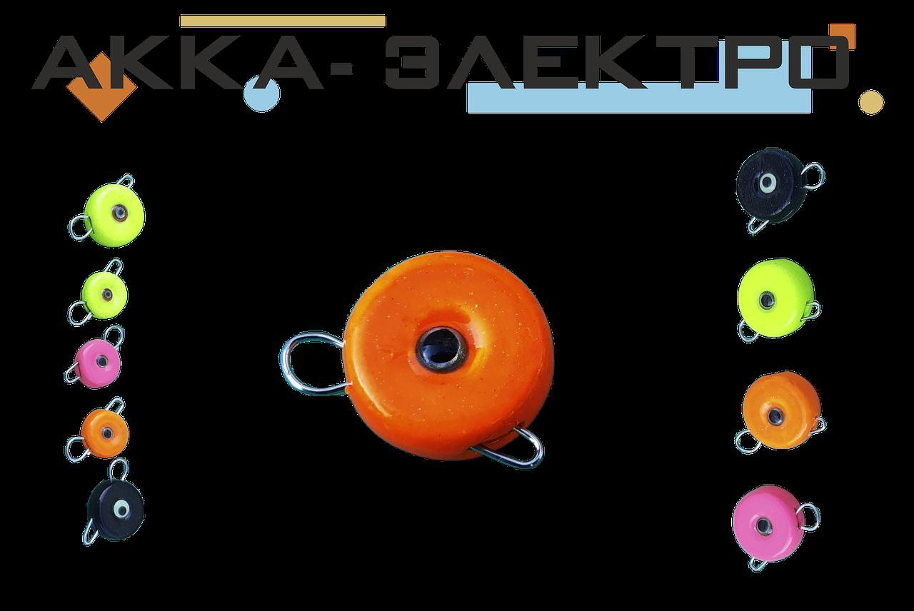 Груз Ушастик-таблетка silver eyes 12г 10шт (Оранжевый)