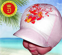 Детские летние шапочки, панамы, косынки, банданы оптом